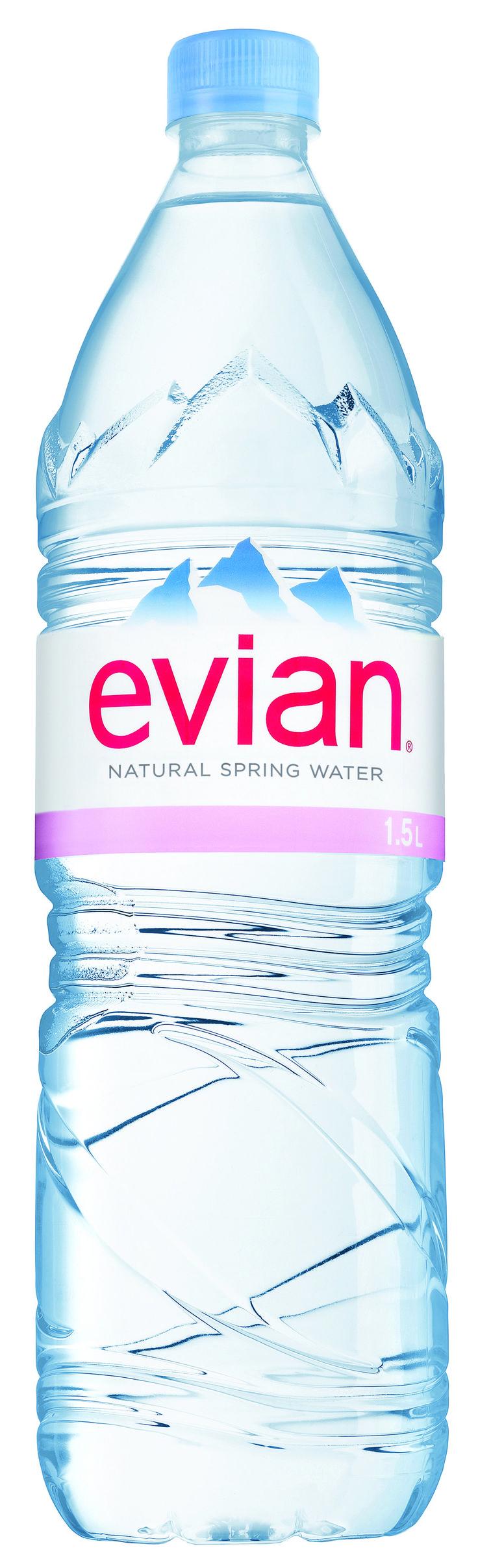 Evian Natural Spring Water, 50.7 Fl Oz (Pack of 12)