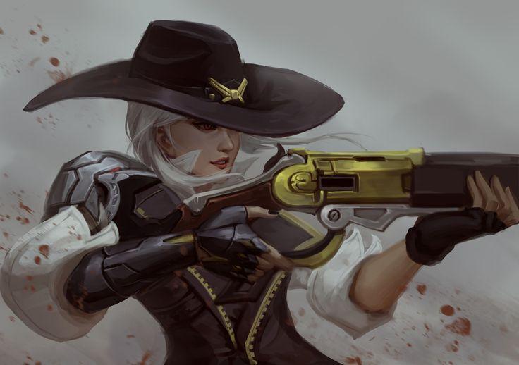 Scykiazor p ashe overwatch Overwatch wallpapers
