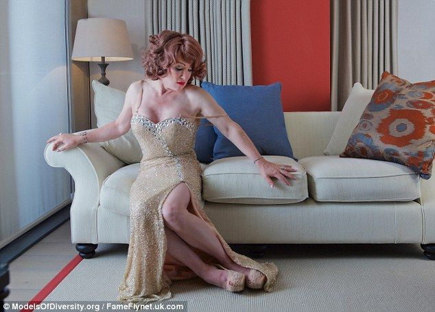 Doing her thing: Kellie Maloney has posed for a striking new photoshoot a year after beginning her transition and her new found confidence is plain to see