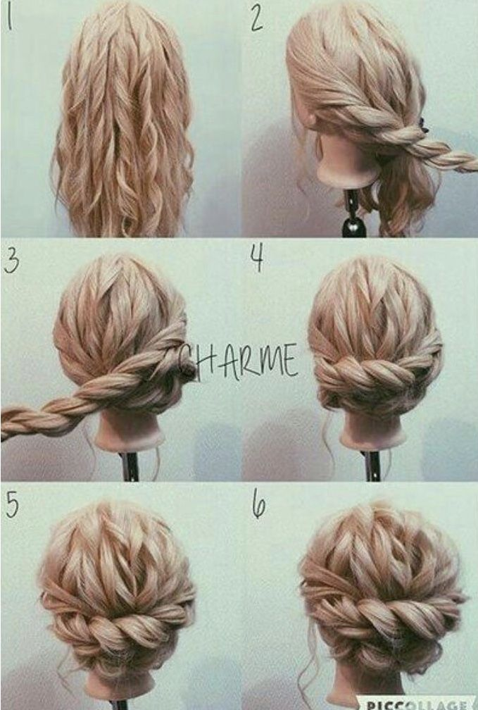 Taylor S Wedding Long Hair Updo Hair Bun Tutorial Hair Styles