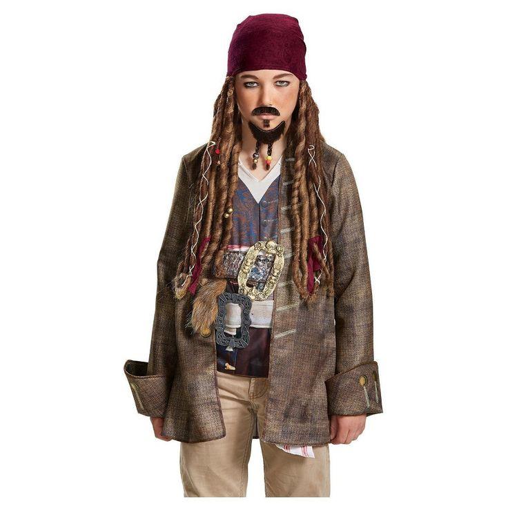 Pirates of the Caribbean 5: Goatee & Mustache, Men's, Multi-Colored