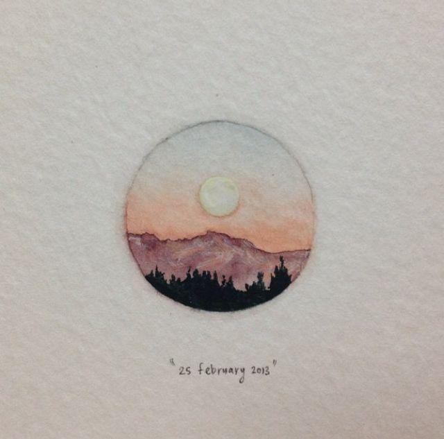 Postkarten für Ameisen: Ein 365-Tage-Miniaturprojekt von Lorraine Loots