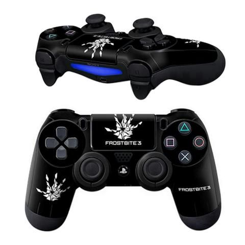 ModFreakz® Pair of Vinyl Controller Skins – Frost Hand Bite Touch for PS4. Perfect gaming accessories for Playstation 4 gamers, gamer girls, gamer co…
