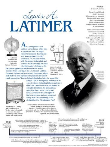Lewis Latimer - Educational Poster Poster at AllPosters.com
