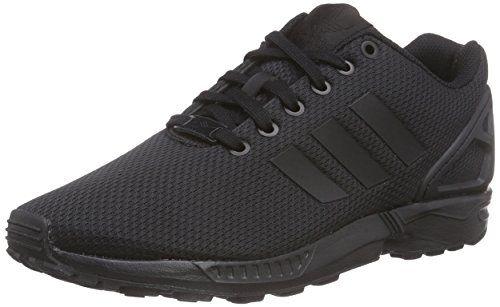 adidas ZX Flux, Herren Hallenschuhe, Schwarz (Core Black/Core Black/Dark Grey), EU 42 - http://uhr.haus/adidas/adidas-zx-flux-herren-hallenschuhe-schwarz-core
