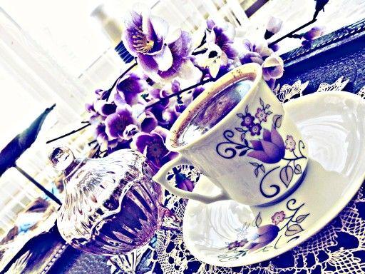 Kahve sunum
