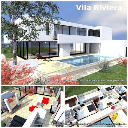 proiecte case moderne acoperis terasa