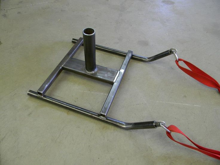 If you have a welder there are a few more things you can make on the cheap.  Here is a pull sled I made.