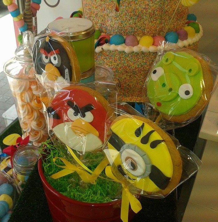 #angrybirds #minions #cookies #pepapig