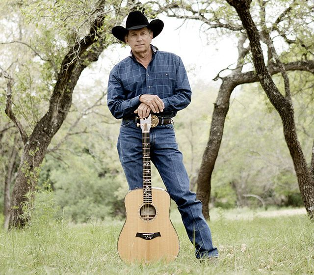 George Strait...still better looking than Luke Brian or any of those other boys!