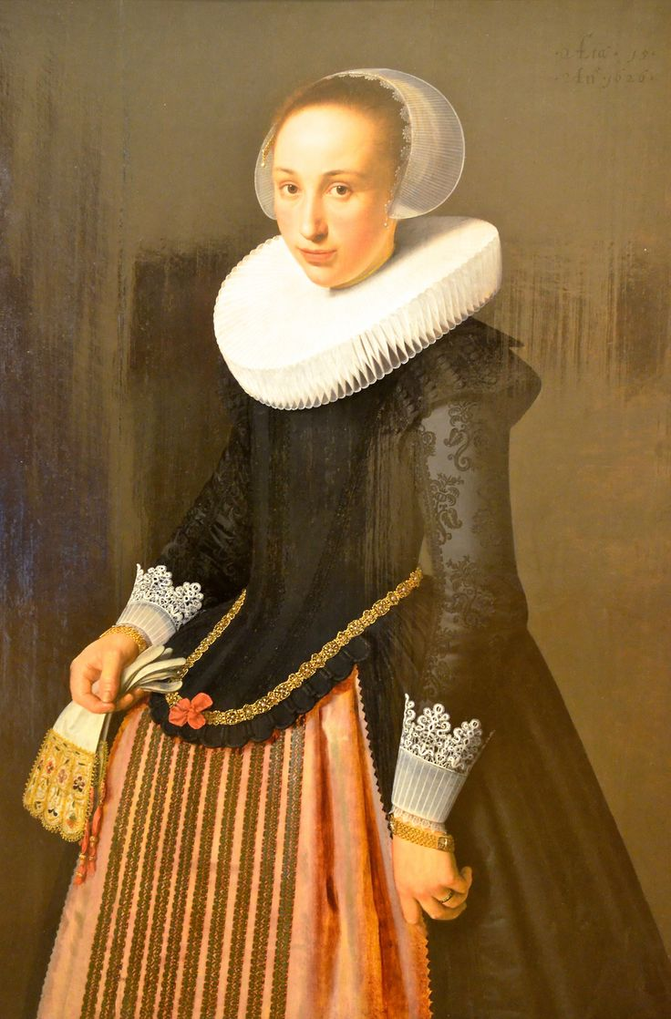 Portrait Of A 15 Year Old Young Lady, Nicolaes Eliasz