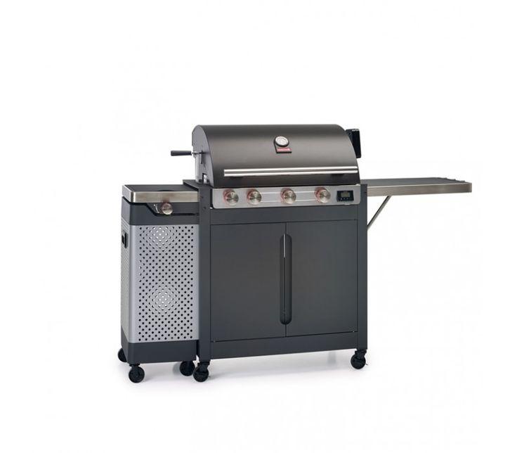 Grill gazowy Quisson 4000 Barbecook - Grille gazowe Barbecook - Grille Gazowe - Grille ogrodowe i wyposażenie tarasu Biokominki,Grille ogrodowe,Drzwi, Podłogi,Meble,Dekoracje