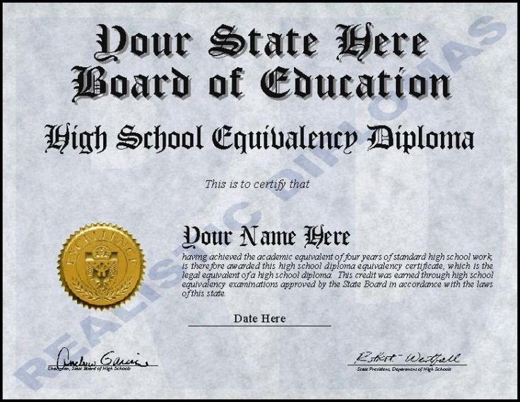 Ged Certificate Template Download (1