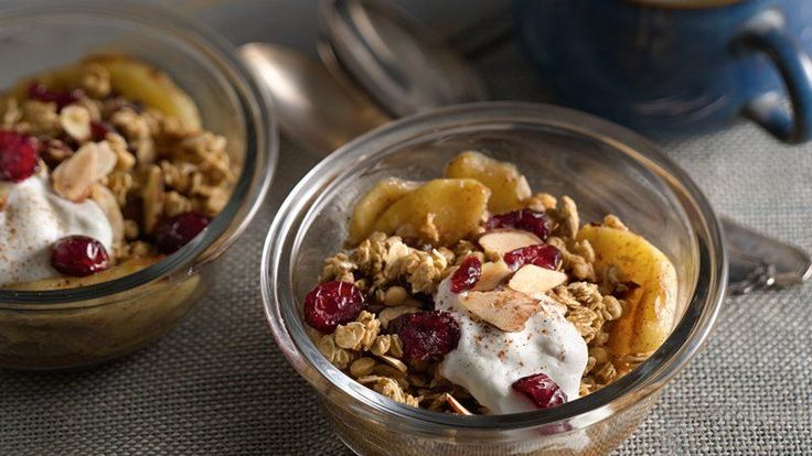 When the craving for apple crisp strikes, whip up an easy version in your microwave!