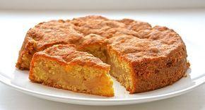 Пирог яблочный с овсянкой