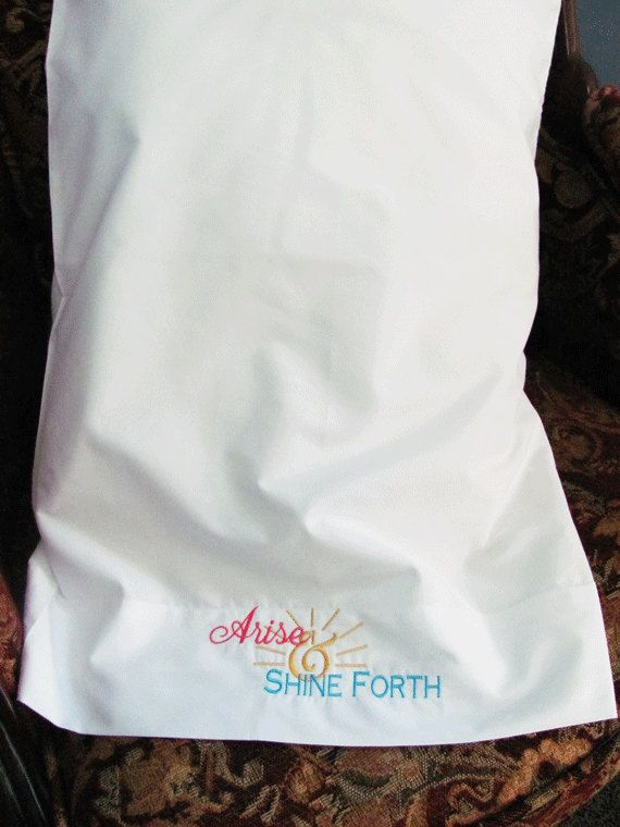 Arise & Shine Forth pillowcase. 2012 theme.$6.00 on etsy