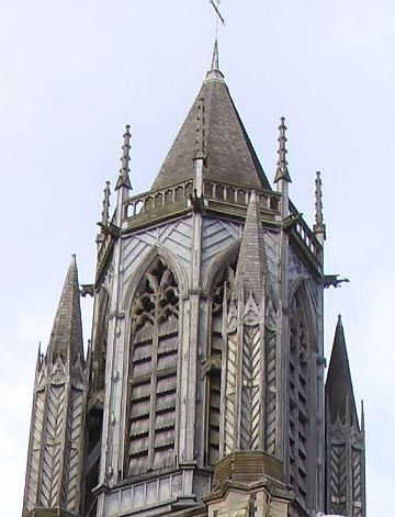 gothic architecture | St. Paul's Parish Church, Brighton, by Richard Cromwell Carpenter ...