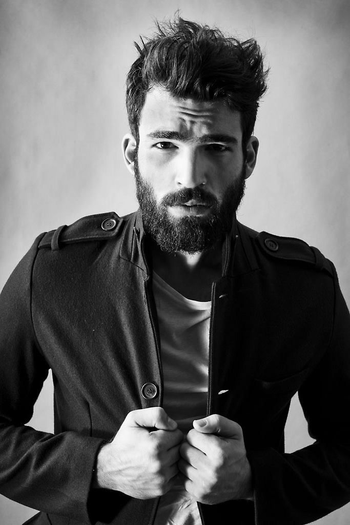Incredible 1000 Images About Beard Men Amp Tattoo On Pinterest Hottest Male Short Hairstyles For Black Women Fulllsitofus