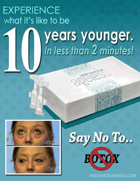 Erase Signs of Aging with Jeunesse Instantly #Ageless  #healthyskin #skincare