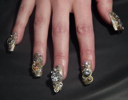 88 best nail art competition nails images on pinterest nail art nail designs competition nails isse long beach 2014 nailpro prinsesfo Images