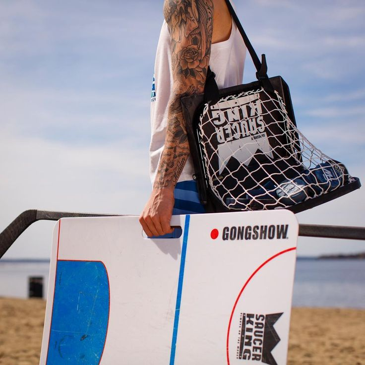 Add the Official Saucer King Game from @gongshowgear set to your list of beach…