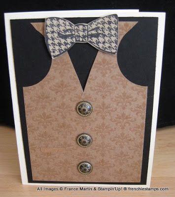 Masculine card all dress up!