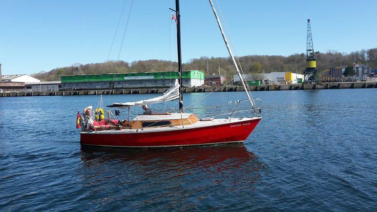 Boat - Flensburger Hafen i Flensburg, Schleswig-Holstein