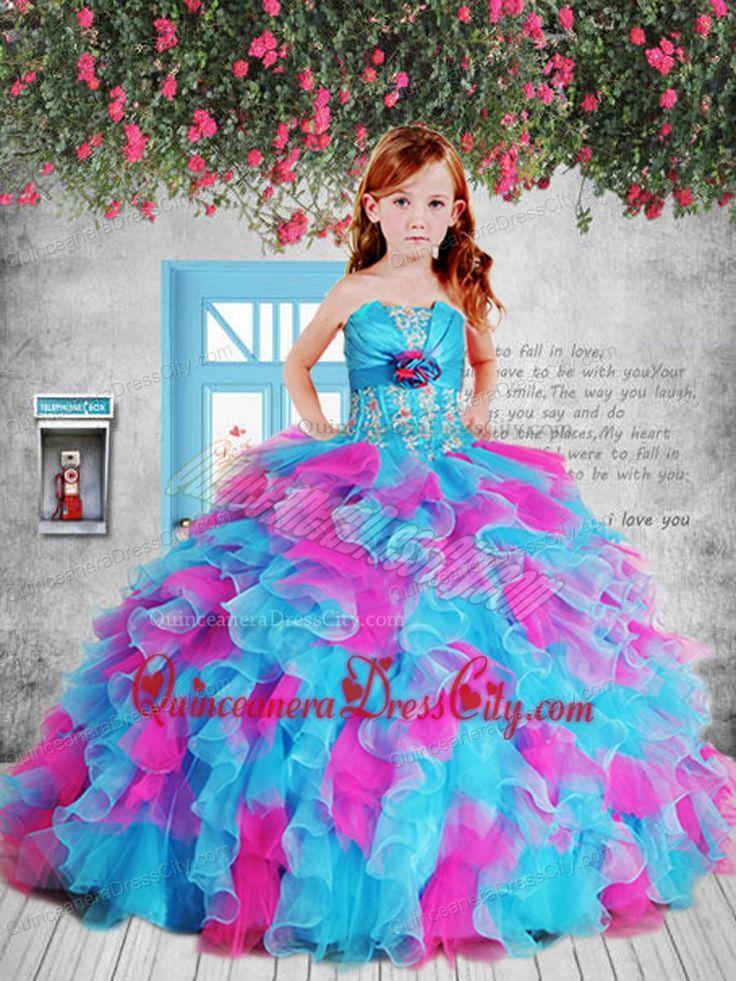 Little Girl Pageant Dresses|quinceanera dresses for little girls
