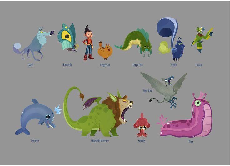 Projetos de Desenvolvimento Visual do STEAK Animation   THECAB - The Concept Art Blog