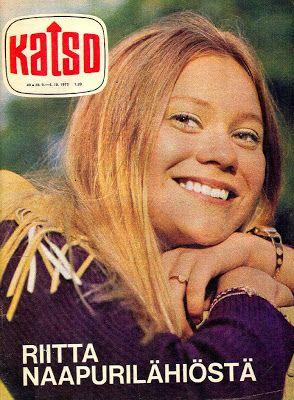 Naapurilähiö TV-sarja (1969–1976). Kuvassa Katso-lehti 40/1970