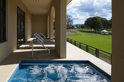 Outdoor Spa  #ChateauElan #DaySpa #Hunter Valley #TheVintage #Australia #Luxury #5Star #Hotel #Resort #Pamper #Relax