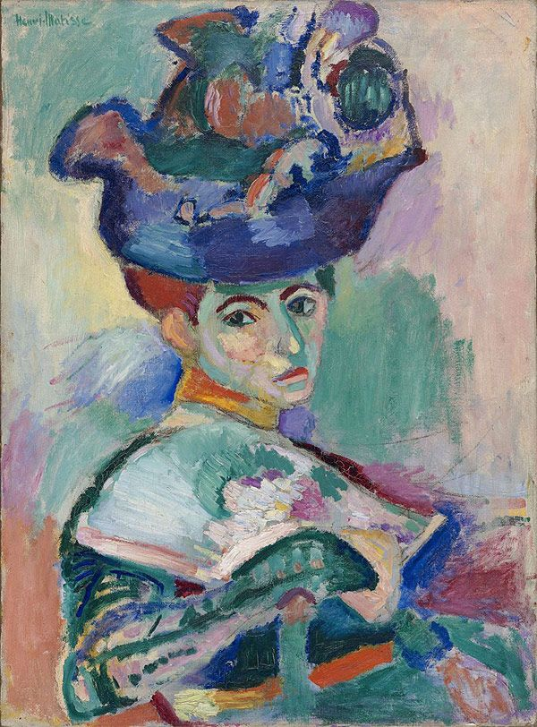 TOUCH this image: Matisse: Woman with Hat by Maite Fresnillo