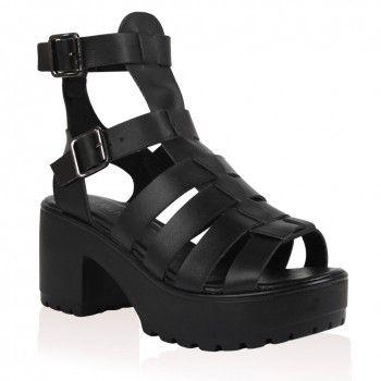 Neive Platform Gladiator Sandals