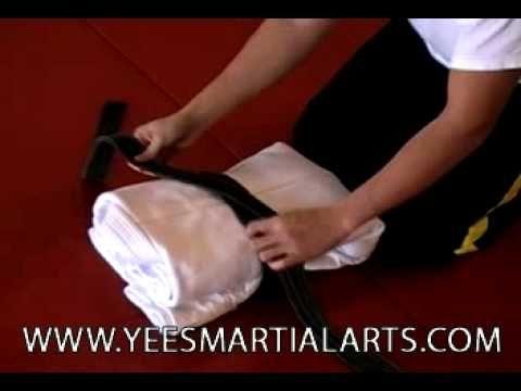 How to fold a Judo GI