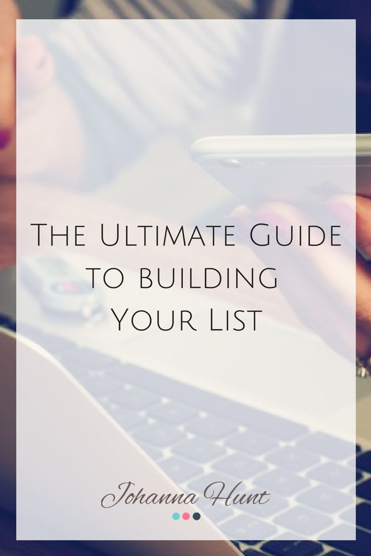 Tuesday's Tip! The Ultimate Guide to Generating New Leads and Building Your List for your Business.