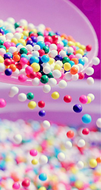 Life is so delicious when all of the colors get mixed up! #candycoated