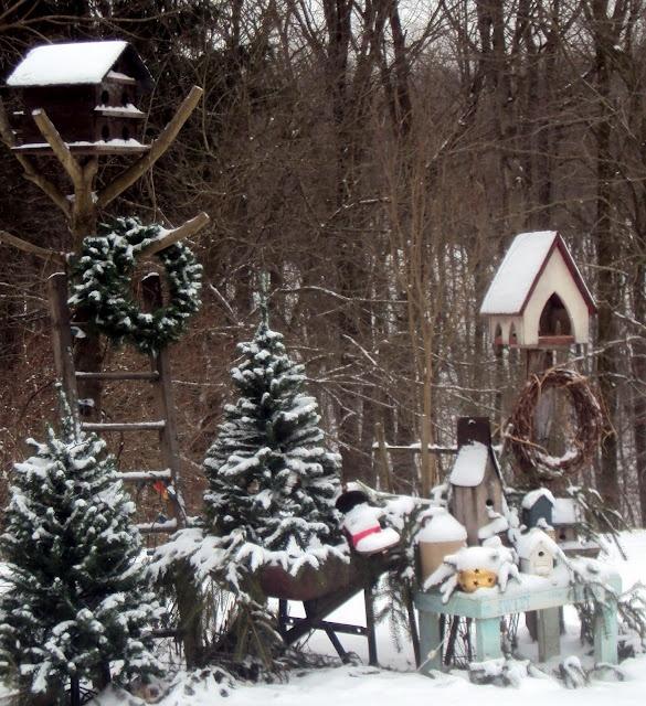 Marvelous Winter Wonderland Of JUNK   Yum!