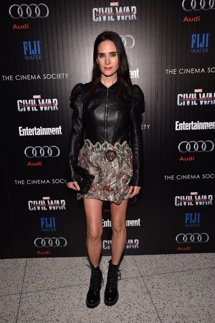 Jennifer Connelly at  The Cinema Society Presents Captain America: Civil War