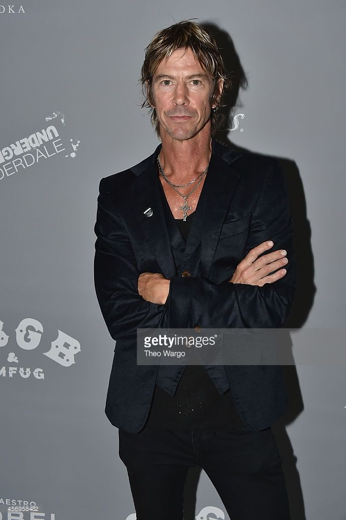 Duff McKagan attends CBGB Music & Film Festival 2014 HQ Kickoff event with Keynote Speaker Billy Idol on October 9, 2014 in New York City.