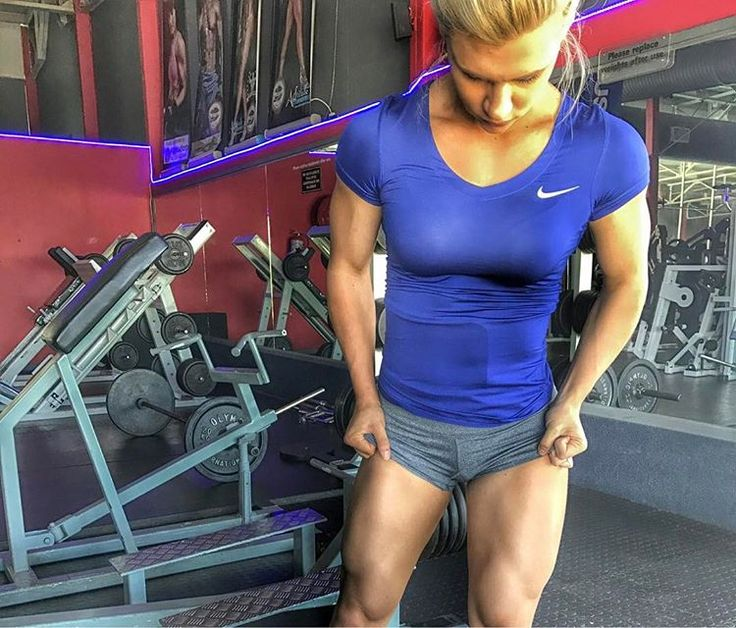 Legs Training With Chandré Jeppe!