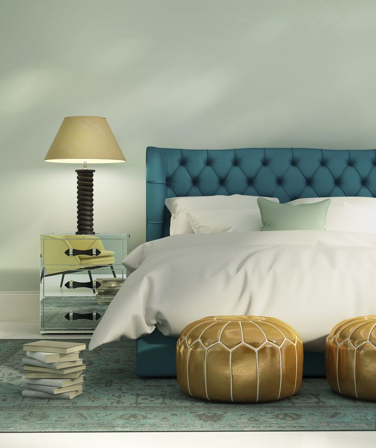 Blue Bedroom Details Gracious Luxury Interiors 18