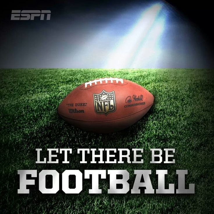 Let there be Football