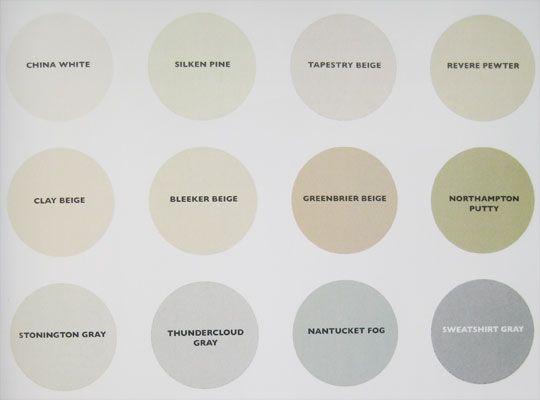 good Benjamin Moore neutral paint colors
