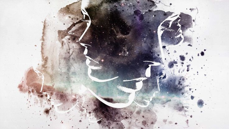 Abstract Art Face Background 1 HD Wallpapers | Art : Painting ...