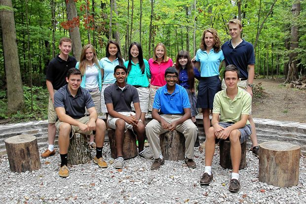 Columbus Academy has 12 students from this year's senior class who have been named semifinalists in the 60th annual National Merit Scholarship Program.