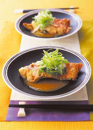 きんめ鯛のピリ辛みそ煮 | 脇雅世さんのレシピ【オレンジページnet ...