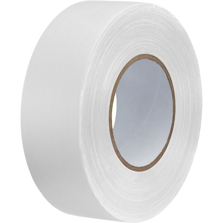 "Impact Gaffer Tape (White, 2"" x 55 yd)"
