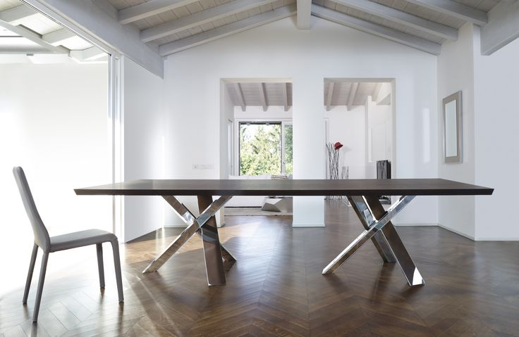 Twin Resort Dining Table made in Italy by Antonello Italia. Available exclusively at Sarsfield Brooke Ltd.