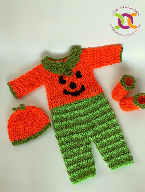 Cutencuddlyoutfits is proud to present this Baby boy Halloween Costume, that will leave you in awe. Your little prince will look his cutest in this cute Pumpkin Baby boy Halloween Outfit. This baby costume can be made in 0-3, 3-6, 6-9, 6-12. 12-18 Months and 18-24 Months size. This