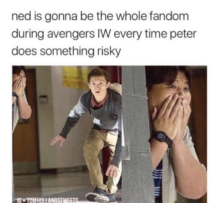 I want Peter to die (TEMPORARILY) and for Tony to sob and use the infinity stone to get him back. Like, take on Thanos single-handedly and beat him for this little 16-yo kid who he didn't want involved.
